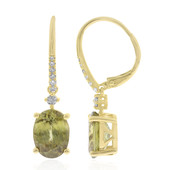 14K Sphene Gold Earrings (CIRARI)
