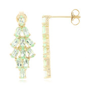 9K Brazilian Paraiba Tourmaline Gold Earrings