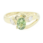 9K Namibian Demantoid Gold Ring