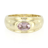 9K Pink Mogok Spinel Gold Ring