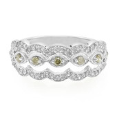 Champagne Diamond Silver Ring (Molloy)