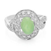 Imperial Chrysoprase Silver Ring