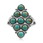 Tyrone Turquoise Silver Ring