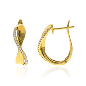 18K SI Diamond Gold Earrings (CIRARI)