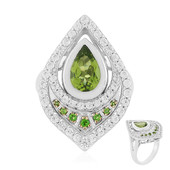 Peridot Silver Ring (Memories by Vincent)