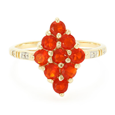 9K Jalisco Imperial Fire Opal Gold Ring