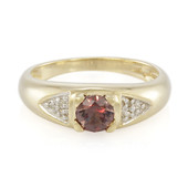 9K Madagascan Colour Change Garnet Gold Ring