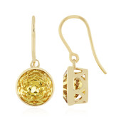 9K Savannah Quartz Gold Earrings (PHANTASIA)