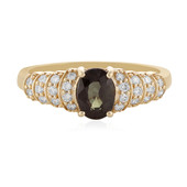 14K Tanzanian Colour Change Garnet Gold Ring (AMAYANI)