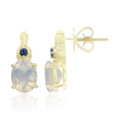 9K Oregon Ice Opal Gold Earrings