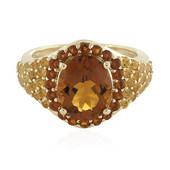 9K Citrine Gold Ring