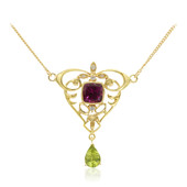 Peridot Silver Necklace