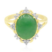 9K Emperor Jadeite Gold Ring