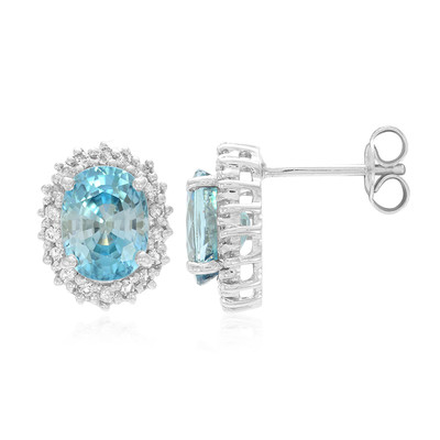 Ratanakiri Zircon Silver Earrings