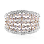 18K SI Pink Diamond Gold Ring (CIRARI)