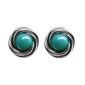 Campo Frio-Turquoise Silver Earrings