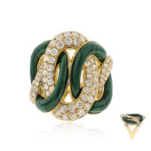 14K Malachite Gold Ring (CIRARI)