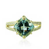 14K AAA Brazilian Aquamarine Gold Ring (de Melo)