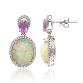 14K Welo Opal Gold Earrings