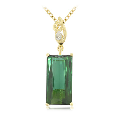 18K Pirineu Tourmaline Gold Necklace