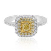 14K Yellow Diamond Gold Ring (CIRARI)