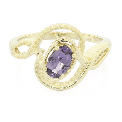 9K Mahenge Purple Spinel Gold Ring