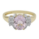 9K Kunzite Gold Ring