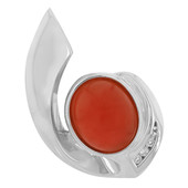 Agate Silver Pendant (MONOSONO COLLECTION)