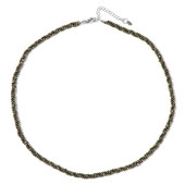 Pyrite Silver Necklace