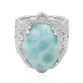 Larimar Silver Ring (Dallas Prince Designs)