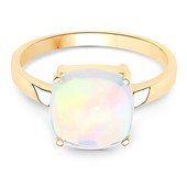 14K AAA Welo Opal Gold Ring