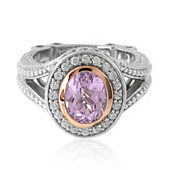 Kunzite Silver Ring (Dallas Prince Designs)
