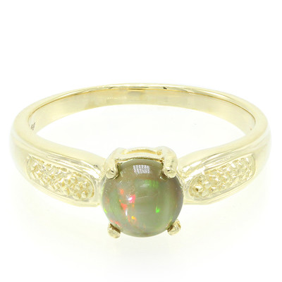10K Kalimaya Opal Gold Ring (Molloy)