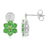 Kenya Tsavorite Silver Earrings (Molloy)