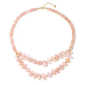 Morganite Silver Necklace