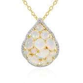 Welo Opal Silver Necklace