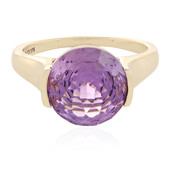 9K Rose de France Amethyst Gold Ring (PHANTASIA)