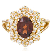 9K Vibhor Zircon Gold Ring (Adela Gold)