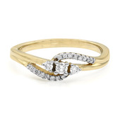 9K SI Diamond Gold Ring