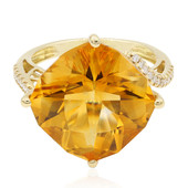 14K Citrine Gold Ring