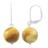 Tiger´s Eye Silver Earrings
