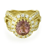 14K Pink Tourmaline Gold Ring (Dallas Prince Designs)