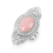 Pink Opal Silver Ring (Dallas Prince Designs)