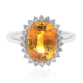 18K Yellow Sapphire Gold Ring