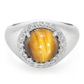 Tiger´s Eye Silver Ring