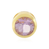 Rose de France Amethyst Silver Pendant (MONOSONO COLLECTION)