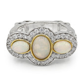 Welo Opal Silver Ring (Dallas Prince Designs)