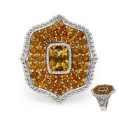 Citrine Silver Ring (Dallas Prince Designs)