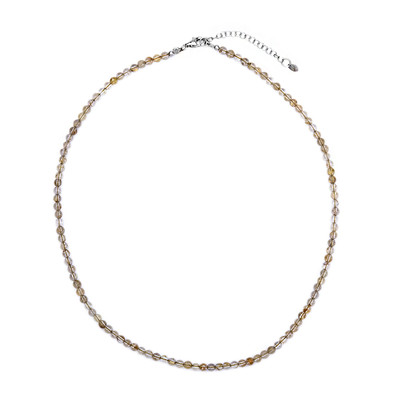 Rutile Quartz Silver Necklace