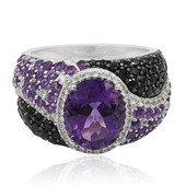 9K Amethyst Gold Ring